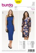 6450 Burda Pattern Dress